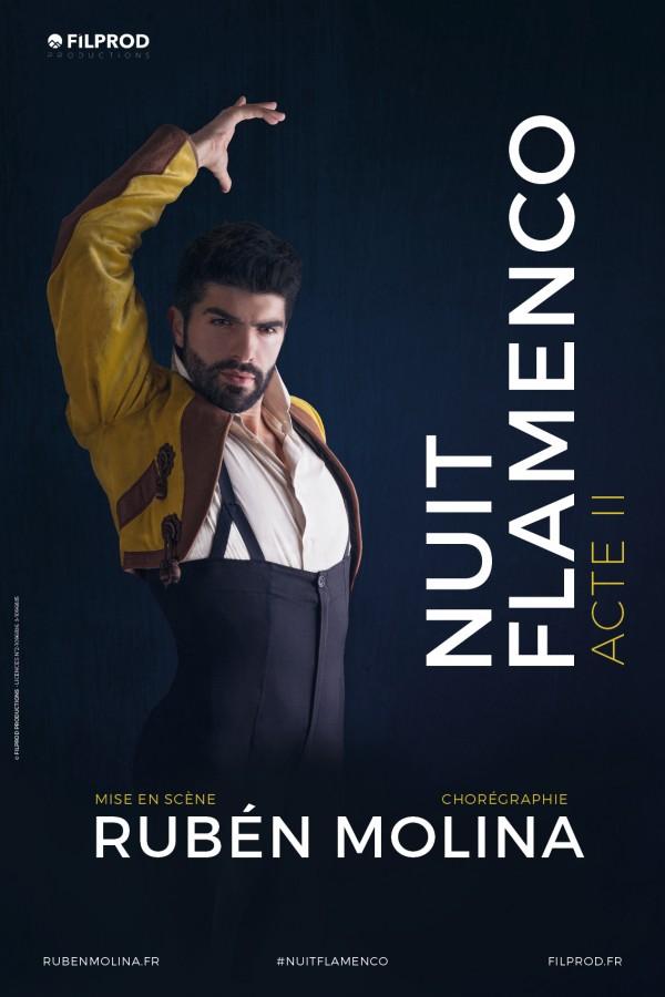 Nuit Flamenco - Acte II par Rubén Molina - Affiche