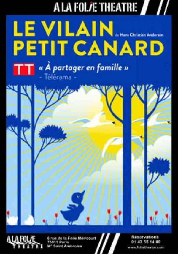 Le Vilain petit canard à la Folie Théâtre : Affiche