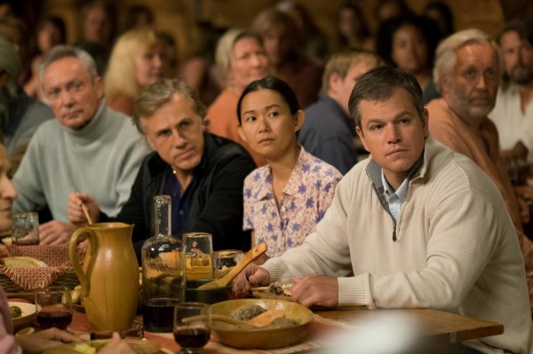 Udo Kier, Christoph Waltz, Hong Chau, Matt Damon