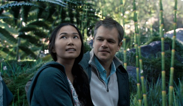 Hong Chau, Matt Damon