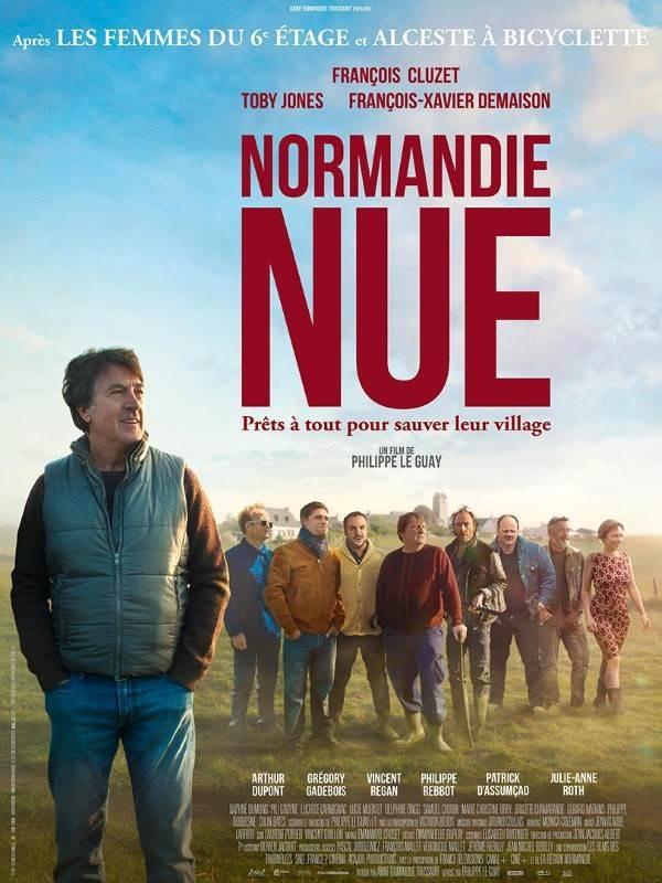 Normandie nue, Affiche
