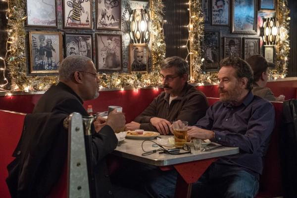 Laurence Fishburne, Steve Carell, Bryan Cranston