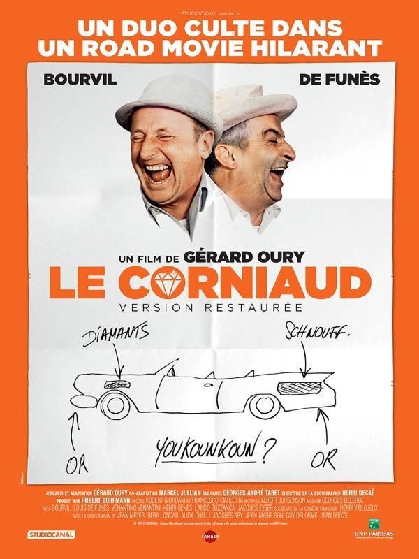Le Corniaud, Affiche version restaurée