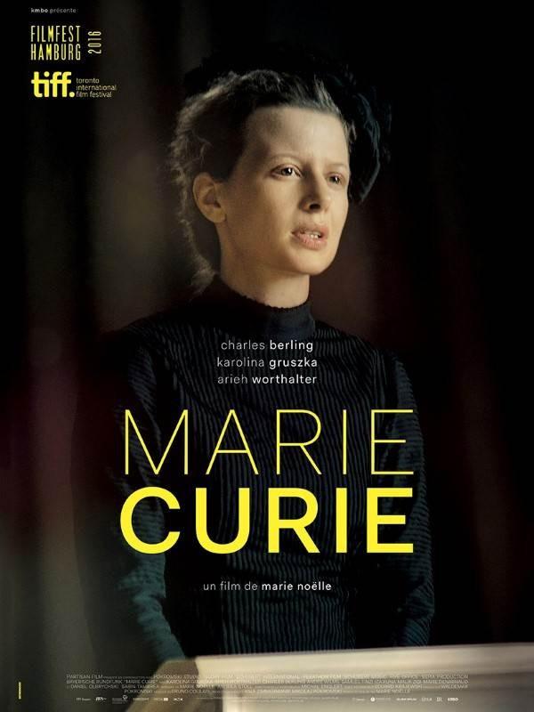 Marie Curie, Affiche