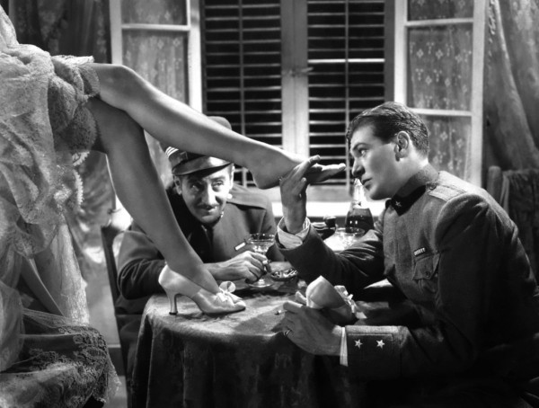 Adolphe Menjou, Gary Cooper