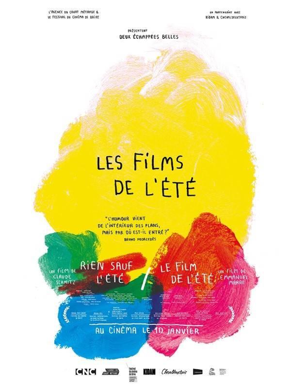 Les Films de l'été, Affiche