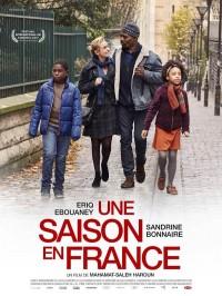 Une saison en France, Affiche