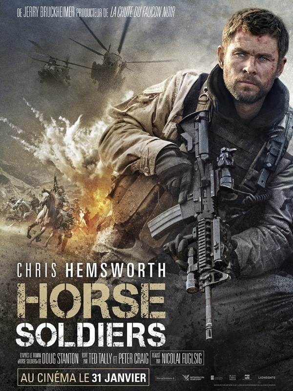 Horse Soldiers, Affiche