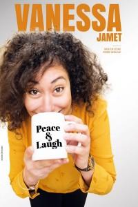 Vanessa Jamet : Peace & Laugh ! - Affiche