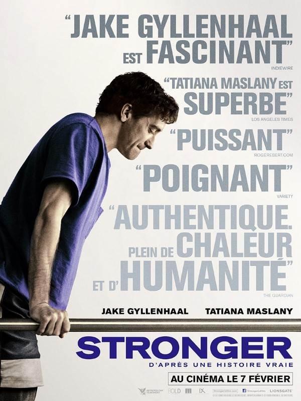 Stronger, Affiche