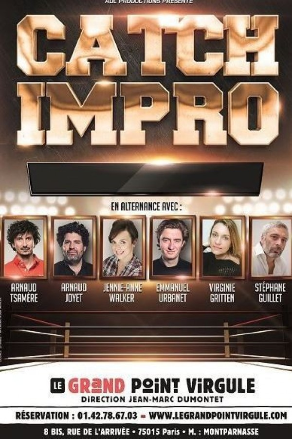 Catch Impro au Grand Point Virgule
