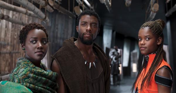 Lupita Nyong'o, Chadwick Boseman, Letitia Wright