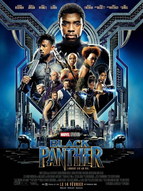 Black Panther, Affiche
