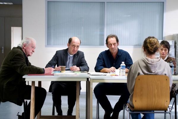 Claude Lévèque, Bruno Georis, Vincent Lindon, Galatéa Bellugi, Elina Löwensohn