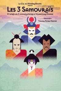 Les Trois Samouraïs - Affiche