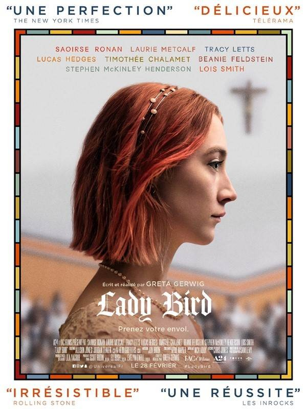 Lady Bird, Affiche