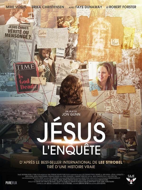 Jésus, l'enquête, Affiche