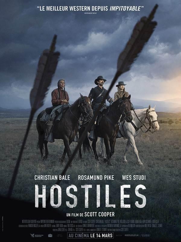 Hostiles, Affiche