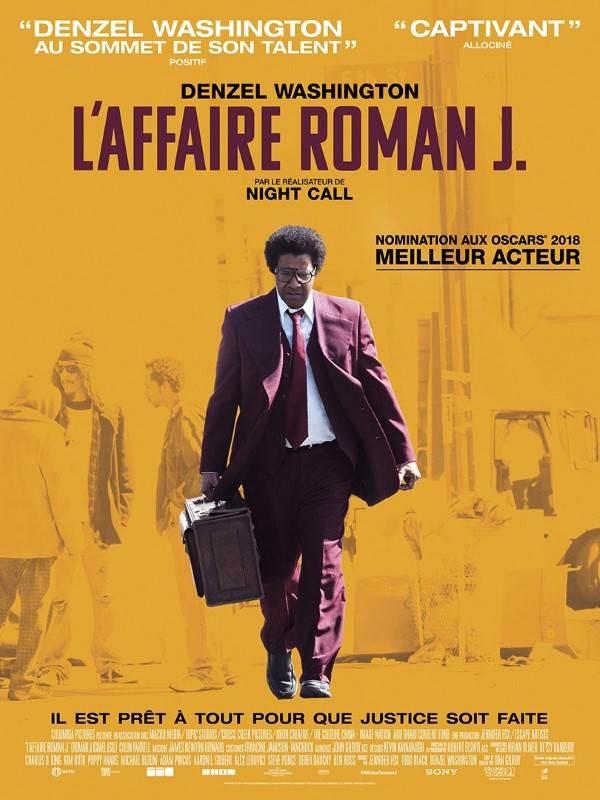 L'Affaire Roman J., Affiche
