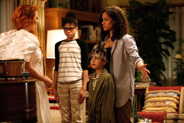 Reese Witherspoon, Storm Reid, Deric McCabe, Gugu Mbatha-Raw
