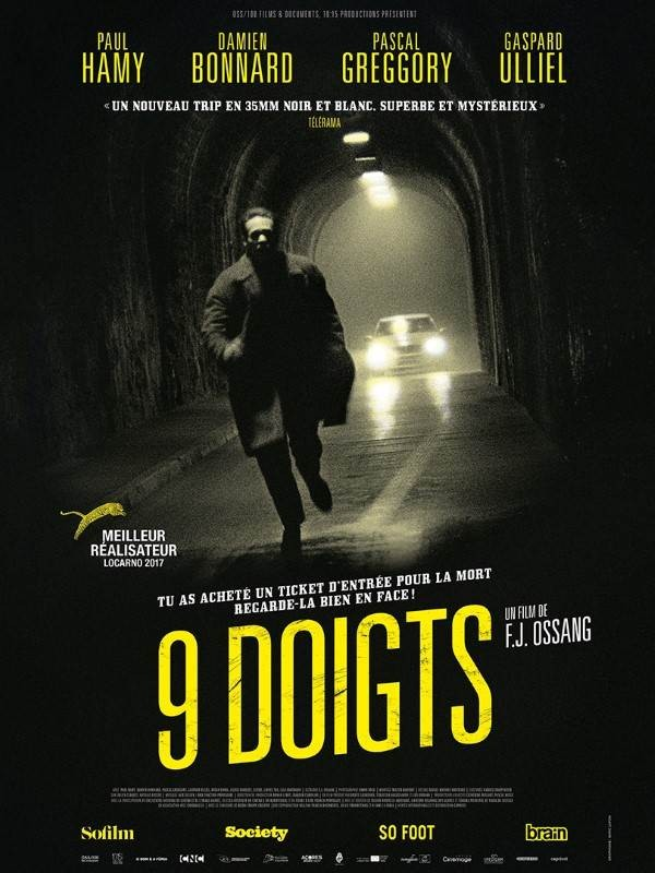 9 doigts, Affiche