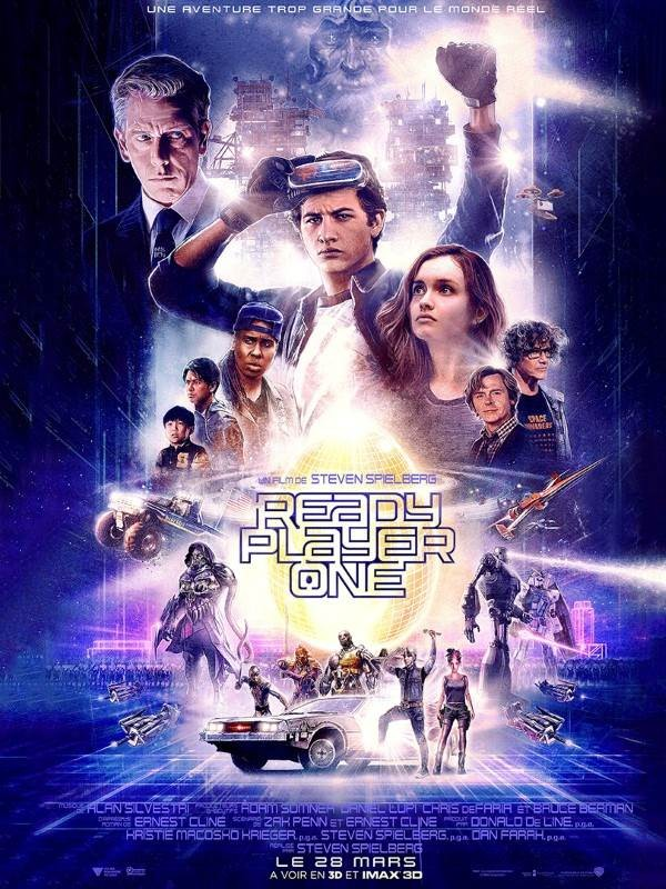 Ready Player One, Affiche