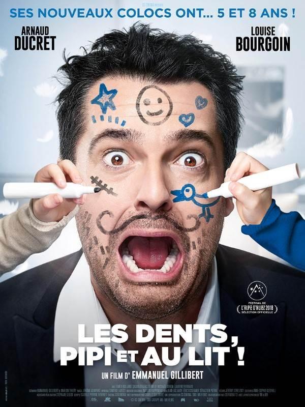 Les Dents, pipi et au lit, Affiche