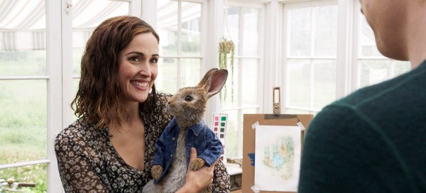 Rose Byrne, Pierre Lapin