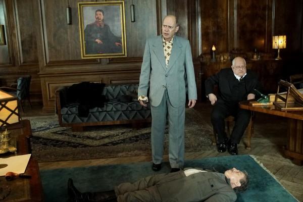 Steve Buscemi, Adrian McLoughlin, Simon Russell Beale