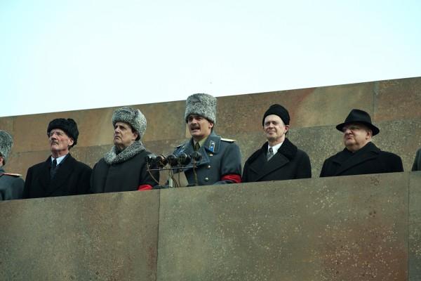 Michael Palin, Jeffrey Tambor, Rupert Friend, Steve Buscemi, Simon Russell Beale