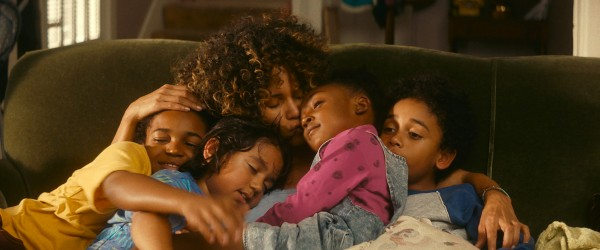 Issac Ryan Brown, Callan Farris, Halle Berry, Serenity Reign Brown, Reece Cody
