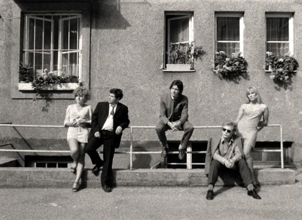 Hanna Schygulla, Hans Hirschmüller (Erich), Harry Baer (Franz), Rudolf Waldemar Brem, Lilith Ungerer