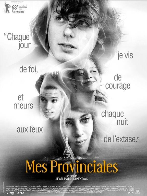 Mes provinciales, Affiche