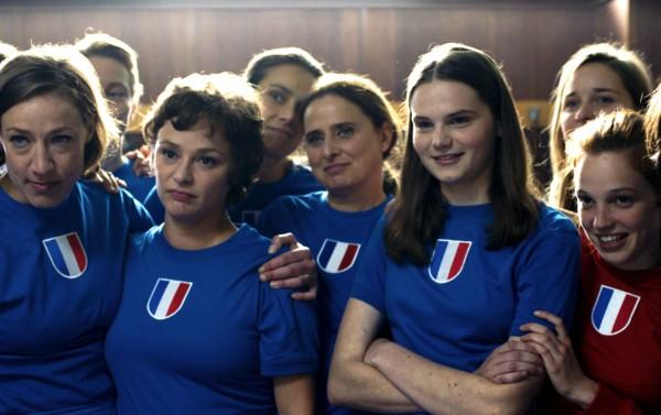 Julie Moulier, Delphine Baril, Carole Franck, Zoé Héran, Solène Rigot