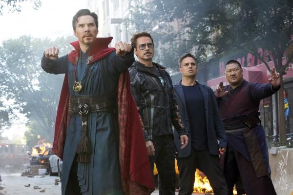 Benedict Cumberbatch, Robert Downey Jr, Mark Ruffalo, Benedict Wong