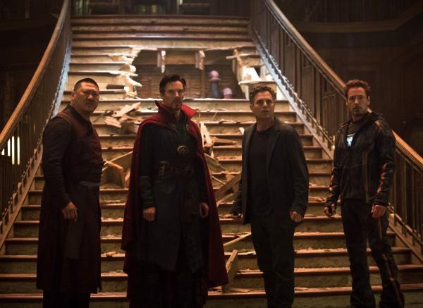 Benedict Wong, Benedict Cumberbatch, Mark Ruffalo, Robert Downey Jr
