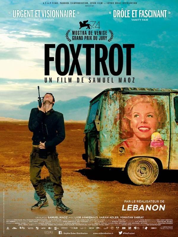 Foxtrot, Affiche
