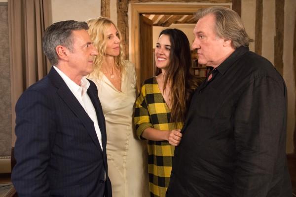 Daniel Auteuil, Sandrine Kiberlain, Adriana Ugarte, Gérard Depardieu