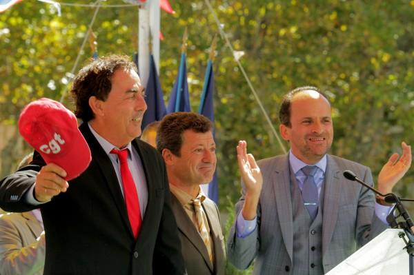Eric Carrière, Francis Ginibre, Lionel Abelanski