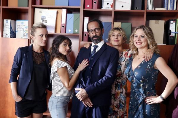 Bérénice Maugat, Sandra Jouet, Eric Delcourt, Sophie Mounicot, Constance