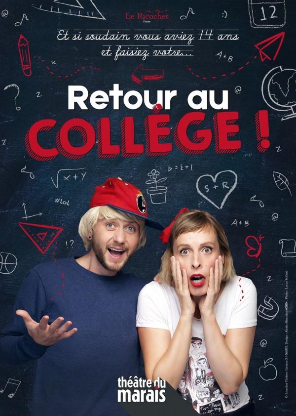 Retour au collège au Théâtre du Marais