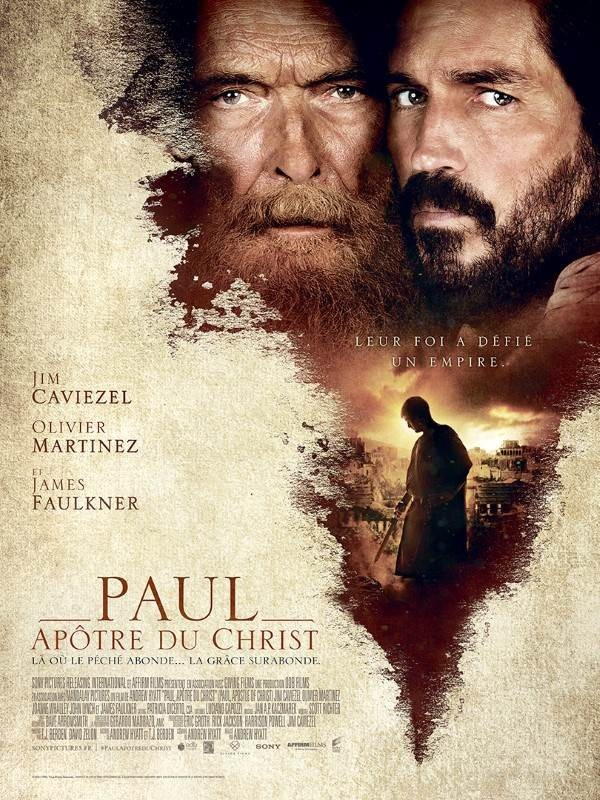 Paul, Apôtre du Christ, Affiche