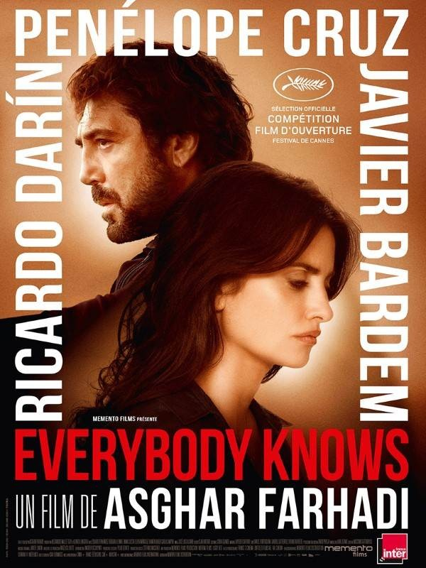 Everybody Knows, Affiche