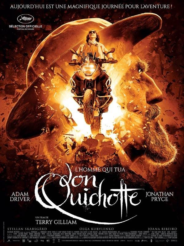 L'Homme qui tua Don Quichotte, Affiche