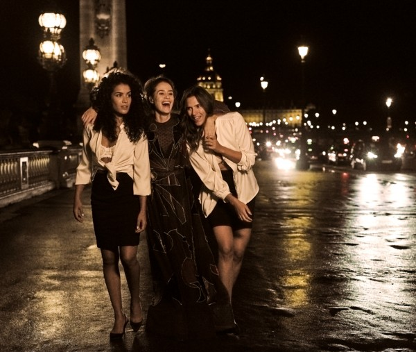 Sabrina Ouazani, Alice David, Charlotte Gabris