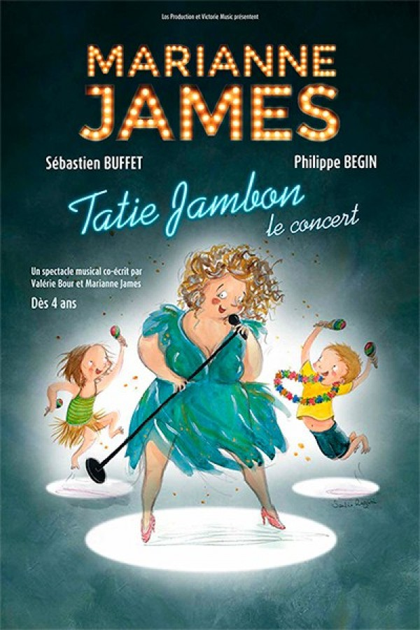 Marianne James, Tatie jambon - Affiche