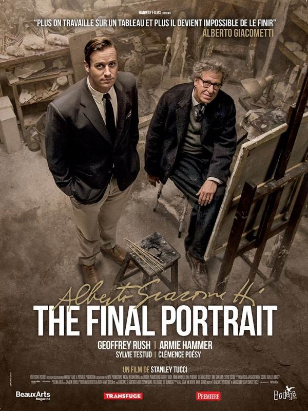 Alberto Giacometti : The Final Portrait, Affiche