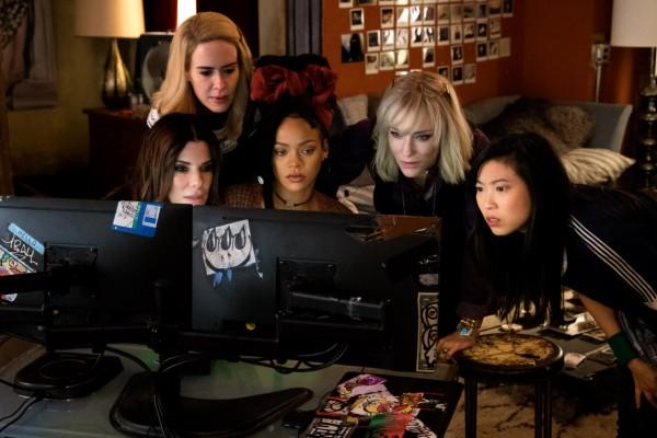 Sandra Bullock, Sarah Paulson, Rihanna, Cate Blanchett, Awkwafina