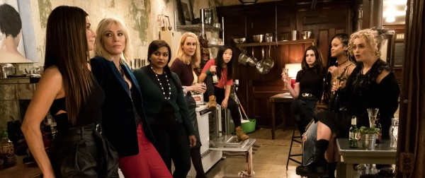 Sandra Bullock, Cate Blanchett, Mindy  Kaling, Sarah Paulson, Anne Hathaway, Rihanna, Helena Bonham Carter