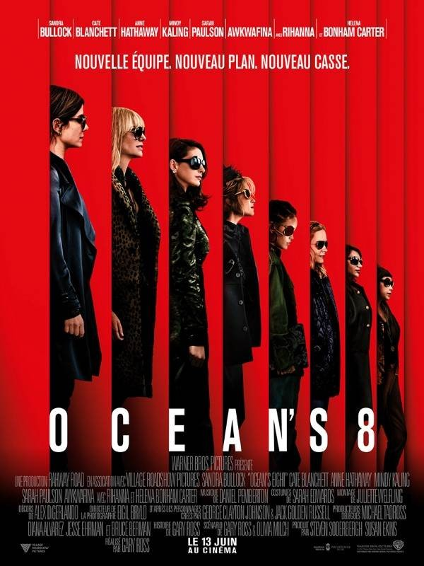 Ocean's 8, Affiche